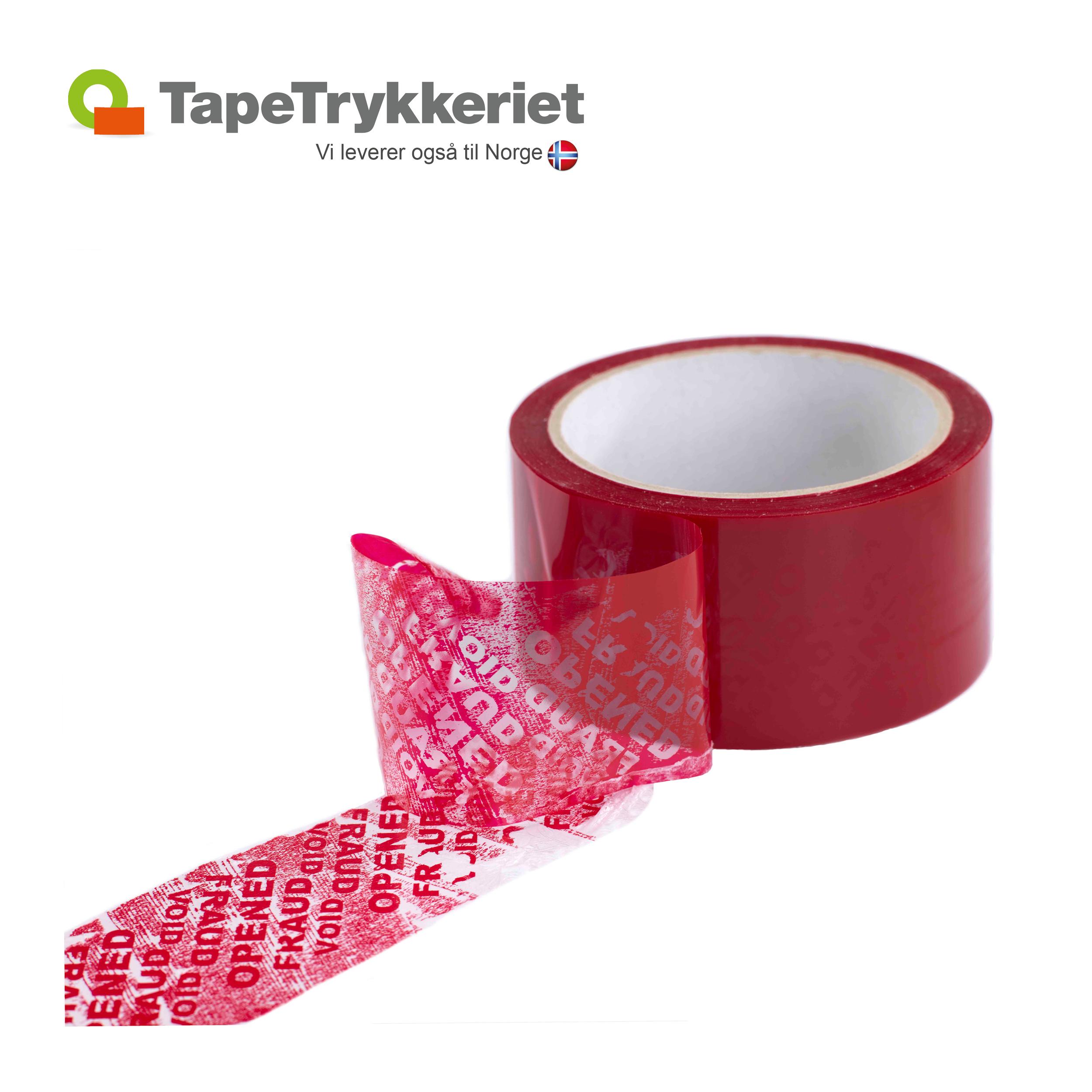 Sikkerhedstape, TapeTrykkeriet.dk
