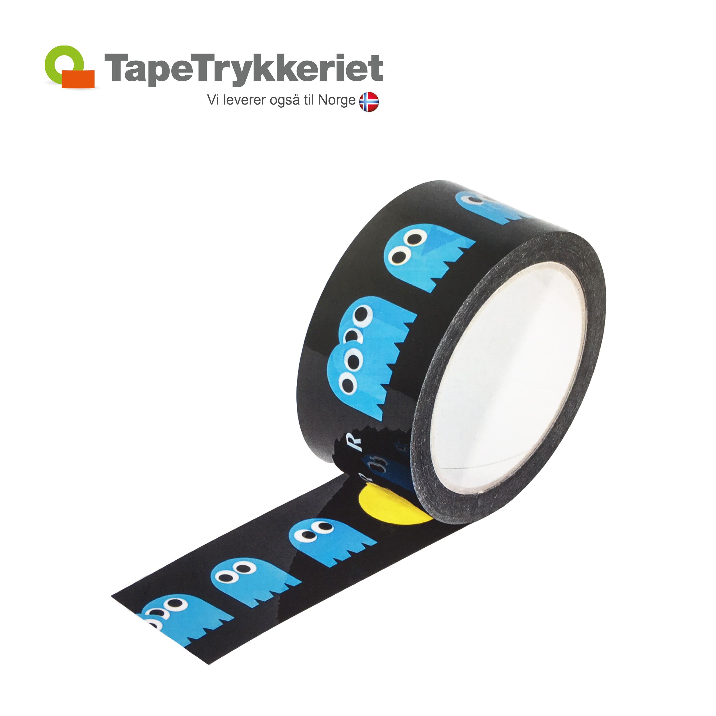 Tape med aftagelig lim. TapeTrykkeriet.dk